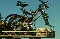 bike rack on 4wd